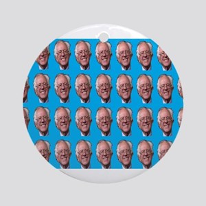 Loving Bernie Round Ornament