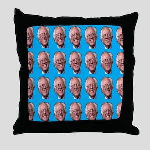 Loving Bernie Throw Pillow