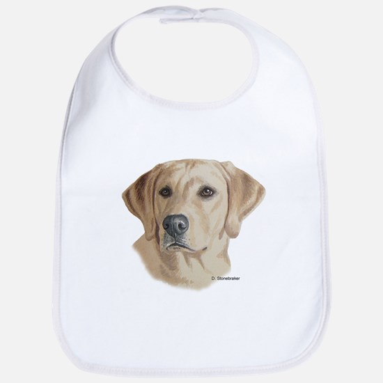 Young Yellow Lab Bib