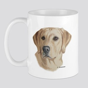 Young Yellow Lab Mug