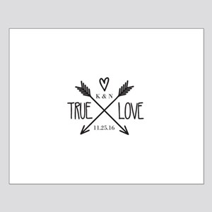 Personalized True Love Arrows Posters