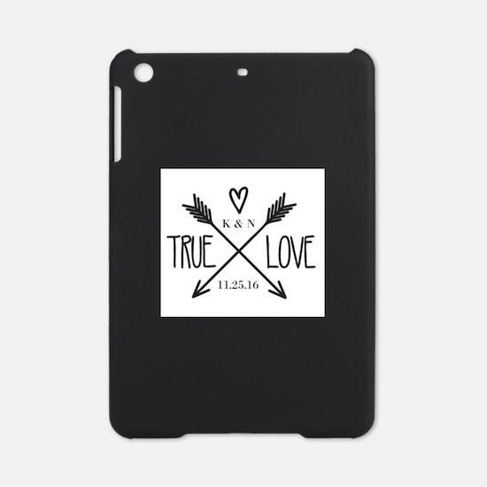Personalized True Love Arrows iPad Mini Case