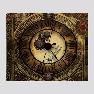 Wonderful steampunk desisgn, clocks and gears Thro
