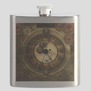 Wonderful steampunk desisgn, clocks and gears Flas