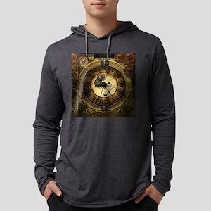 Wonderful steampunk desisgn, clocks and gears Long
