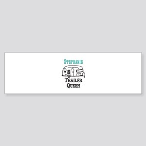 Custom Trailer Queen Bumper Sticker