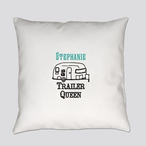 Custom Trailer Queen Everyday Pillow