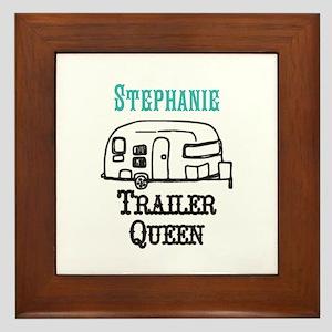 Custom Trailer Queen Framed Tile