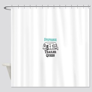 Custom Trailer Queen Shower Curtain