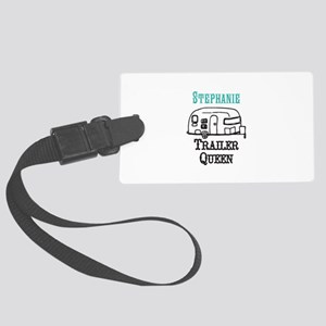 Custom Trailer Queen Luggage Tag