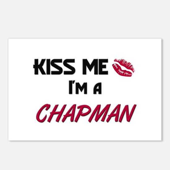 Kiss Me I'm a CHAPMAN Postcards (Package of 8)