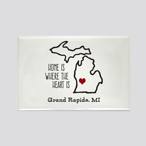 Personalized Michigan Heart Magnets