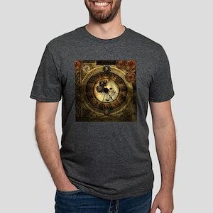 Wonderful steampunk desisgn, clocks and gears T-Sh