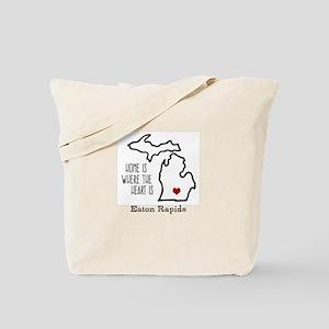 Custom Eaton Rapids Michigan Tote Bag