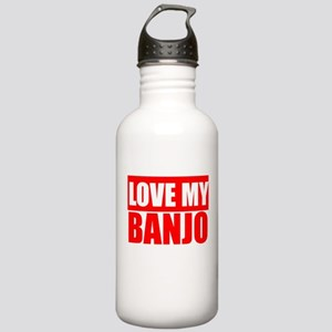 Love My Banjo Water Bottle