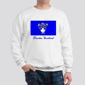 Dundee Scotland Flag Sweatshirt