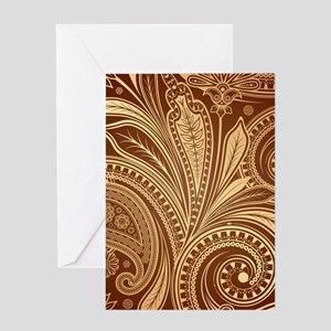 Decorative Ornamental Pattern Greeting Cards