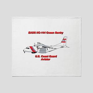 EADS HC-144 Ocean Sentry Throw Blanket