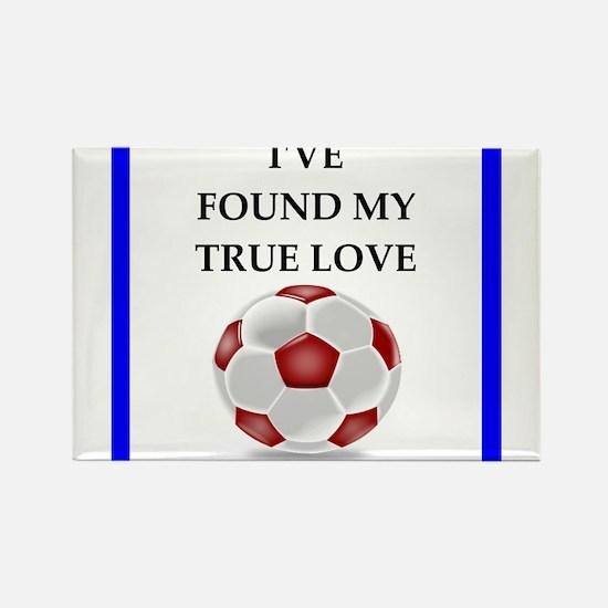 soccer joke Magnets