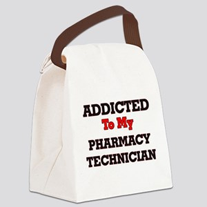 Addicted to my Pharmacy Technicia Canvas Lunch Bag
