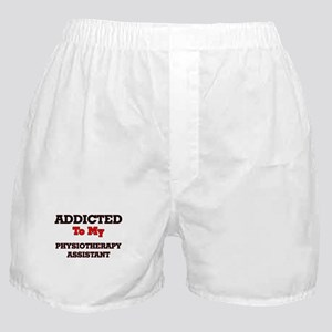 Addicted to my Physiotherapy Assistan Boxer Shorts