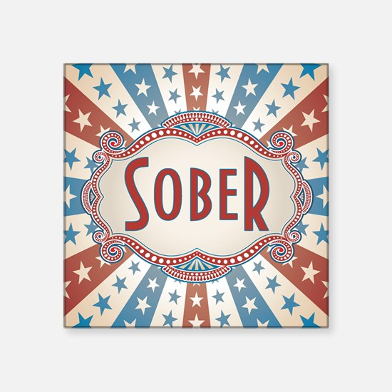Sober Sticker