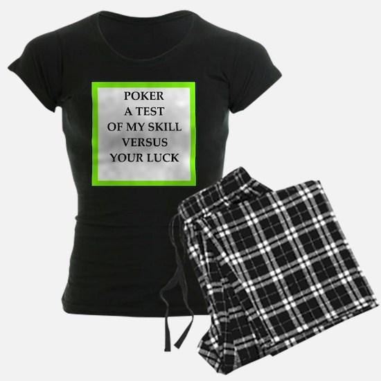 poker joke Pajamas