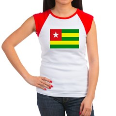 Togo Women's Cap Sleeve T-Shirt