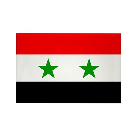Syria Rectangle Magnet (100 pack)