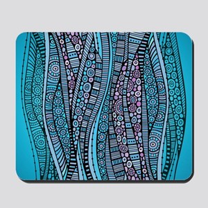 Abstract Waves Mousepad