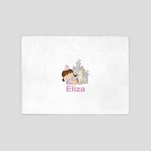 Eliza's Purple Princess 5'x7'Area Rug
