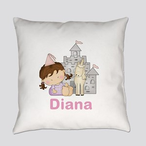 Diana's Purple Princess Everyday Pillow