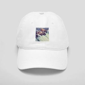 Bears Fishing Baseball Cap