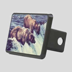 Bears Fishing Hitch Cover