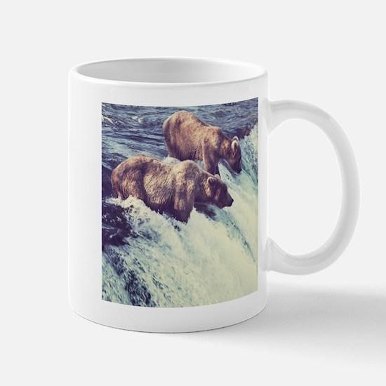 Bears Fishing Mugs