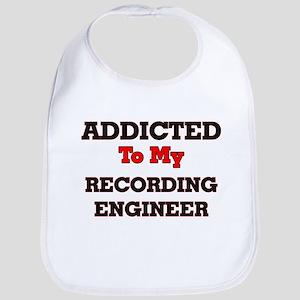 Addicted to my Recording Engineer Bib