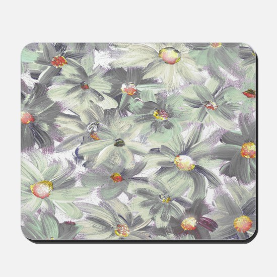 Painted Flowers Mousepad
