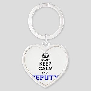 DEPUTY I cant keeep calm Keychains