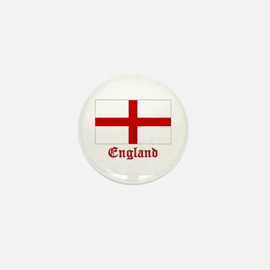 England Flag Mini Button