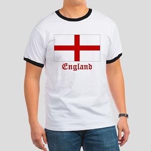 England Flag Ringer T