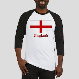 England Flag Baseball Jersey