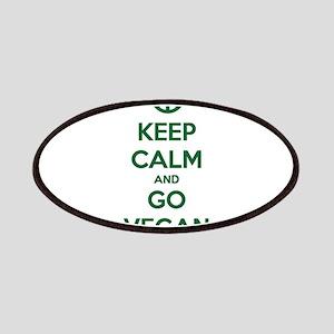 Keep Calm and GO VEGAN Patch