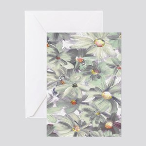 Hand Painted Wildflowers Flowers Greeting Cards
