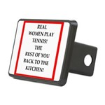 real women sports and gaming joke Hitch Cover