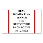 real women sports and gaming joke Sticker