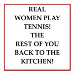 real women sports and gaming joke Square Car Magne