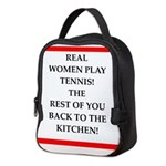 real women sports and gaming joke Neoprene Lunch B