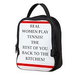 real women sports and gaming joke Neoprene Lunch B