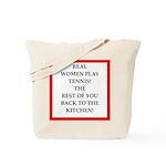 real women sports and gaming joke Tote Bag