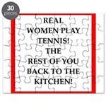 real women sports and gaming joke Puzzle